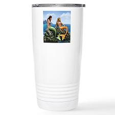 pensive mermaids on roc Travel Mug