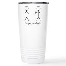 i got your bacvk Travel Mug