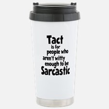 black, Tact 2 Travel Mug