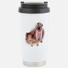 two sharpeis Travel Mug