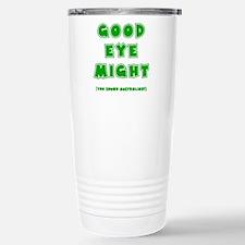 green, Good Eye Might,  Travel Mug