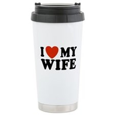 Cute I love my husband Travel Mug