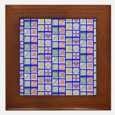Bingo Game Patterns Offset Framed Tile