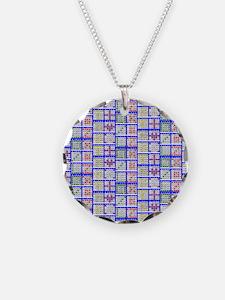 Bingo Game Patterns Offset Necklace