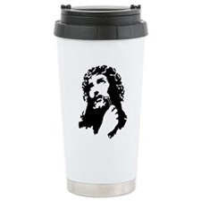 jesusshaves Travel Mug