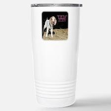 E-I-E-I-O pink Travel Mug