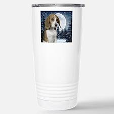 BeagleWinterMousepad Stainless Steel Travel Mug