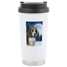 BeagleWinteriPad Travel Mug
