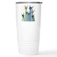 blue green hilo Travel Mug