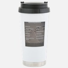 footprints_sand Stainless Steel Travel Mug