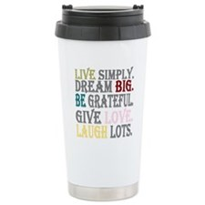 Live Simply Travel Mug