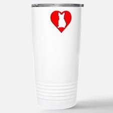 Frenchie-Darks Stainless Steel Travel Mug