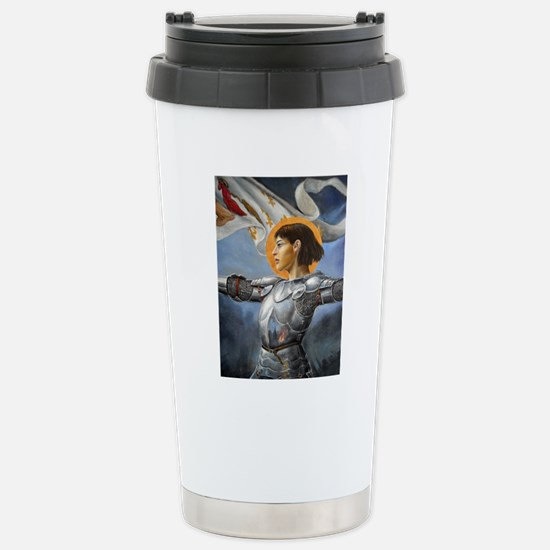 DSCN3888 joan of arc ve Stainless Steel Travel Mug