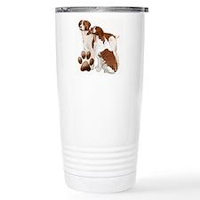 brittany spaniels2 Travel Mug