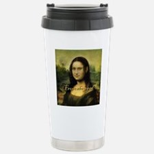 Mona_Lisa  full length  Travel Mug