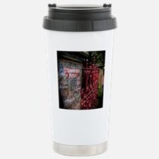 Strawberry Field Stainless Steel Travel Mug