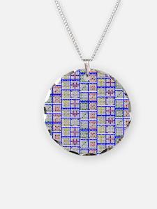 Bingo Game Patterns Offset 2 Necklace