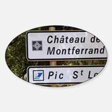 Chateau Ste Agnes. Pic St Loup. Lan Decal