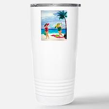 Beach Babes Travel Mug