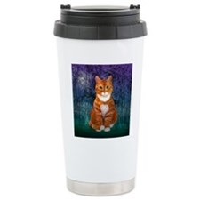 Orange Tabby Cat Travel Mug