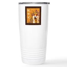 tile coaster grunge Travel Mug