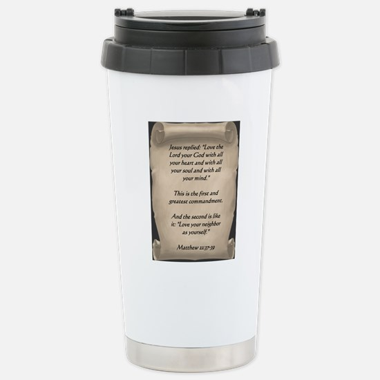 Command3 Stainless Steel Travel Mug