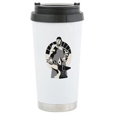 Black_smith_giant-grey Travel Coffee Mug