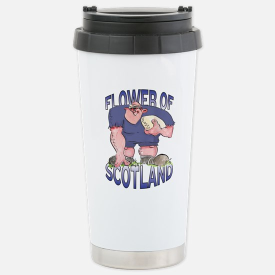 Scottish Rugby - Forwar Stainless Steel Travel Mug