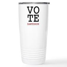 VoteSantorum1 Travel Coffee Mug