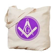 Masonic Square and Compass Tote Bag