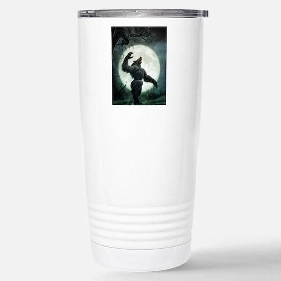 Howl-SmallPoster Stainless Steel Travel Mug
