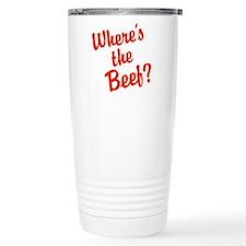 Where's The Beef? Travel Mug