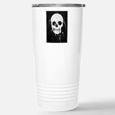 skull illusion Stainless Steel Travel Mug