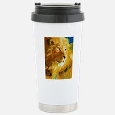 Lion Art Travel Mug