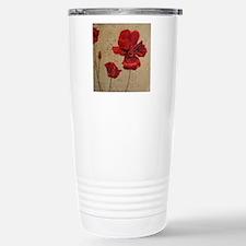 Poppy Art III Travel Mug
