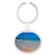 Turks & Caicos Club, Providenciales, Oval Keychain