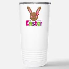 1stEasterBunnyGirl Travel Mug