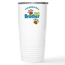 DogPawPrintBigBrotherTo Travel Mug