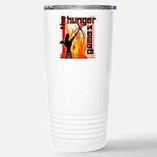 katniss on fire version Travel Mug