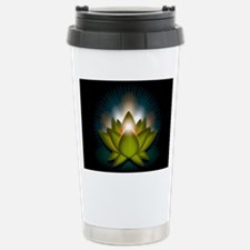 Chakra Lotus - Heart Gr Stainless Steel Travel Mug