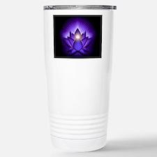 Chakra Lotus - Third Ey Stainless Steel Travel Mug
