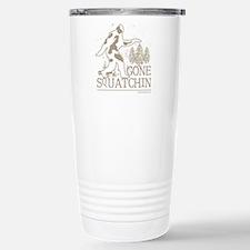 gonesquatchin2DARKRESIZ Stainless Steel Travel Mug
