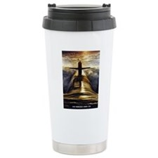 nebraska framed panel p Travel Mug