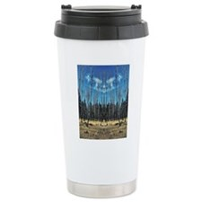 leaning trees Travel Mug
