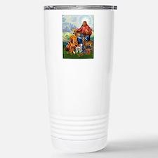 JesusAnimaltee2 Stainless Steel Travel Mug