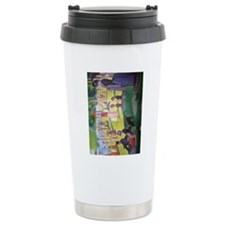 iPad Seurat Jatte Travel Mug