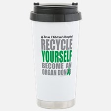 Recycle-Yourself-Organ- Stainless Steel Travel Mug
