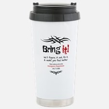 white_tee_back2 Thermos Mug