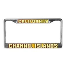 Channel Islands  License Plate Frame
