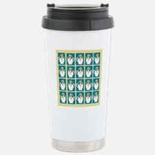 chihuahu in teacup show Stainless Steel Travel Mug